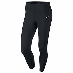 Nike Dri-Fit Essential Women's Capri Running Tights BlackBlackReflective Silv