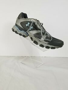women's Under Armour cartilage athletic running walking shoes size 9 Gray blue