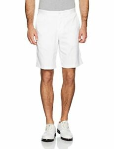 Nike 2017 Flat Front Mens Golf Shorts (White 28)