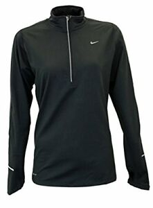 Nike Element Half-Zip Women's Long Sleeve Pullover athletic running shirt