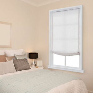 Tranquil Cordless Roman Shades 4 Colors 5 Sizes