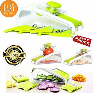 Mandoline Slicer Set Mandolin Vegetables Fruits Cuts Piece Straight Julienne