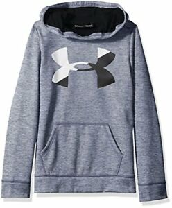 Under Armour Girls' Armour Fleece Big Logo Novelty Hoodie