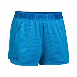 Under Armour Women's Play Up 2.0 Mesh Shorts Mako BlueLapis Blue X-