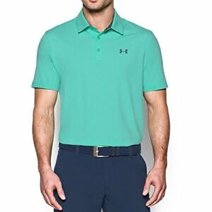 Under Armour Men's Playoff Vented Polo Mint
