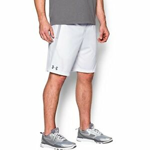 Under Armour Men's Tech Mesh Shorts WhiteSteel Small