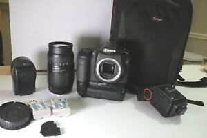 Canon EOS 50D 15.1MP Digital SLR Camera + ZOOM LENS+GRIP+LOWEPRO BAG  BUNDLE