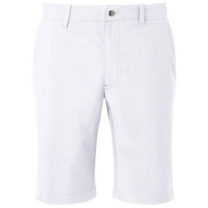 Callaway Golf Mens 2018 Opti-Stretch Chev Tech Lightweight Short II Bright White