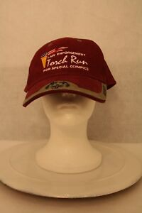 MO Law Enforcement Torch Run for Special Olympics Dad Truck Adjustable Cap Hat $49.95