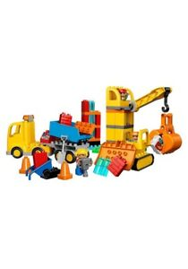LEGOS Lego Construction Site For Young Kids Big Blocks For Toddlers Best Legos
