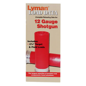 Lyman Data Book 72 Pages 12 Gauge Load 9780000