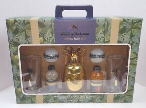 Tommy Bahama Gift Set Pineapple Cocktail Shaker Glasses Mixes New Tropical Party