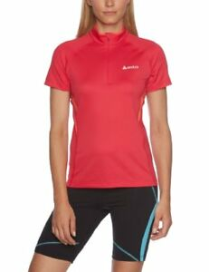 Odlo Poise Women's Short-Sleeved Running Shirt with Stand-Up Collar and 12 Z...