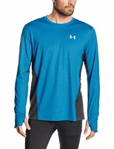 Under Armour UA Run Men's Short-Sleeved T-Shirt Charged Wool Long-Sleeved T-S...