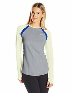 Under Armour Women's UA Coldgear Armour Crew Long-Sleeve Shirt - True Grey He...