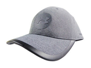 NEW Under Armour Classic Fit Jordan Spieth Grey Elevated Tour Fitted SM Hat