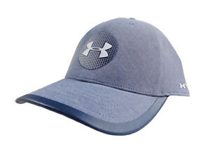 NEW Under Armour Classic Fit Jordan Spieth Blue Elevated Tour Fitted SM Hat