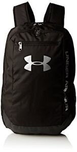 Under Armour Men's Hustle LDWR Traditional Backpack - Black One Size