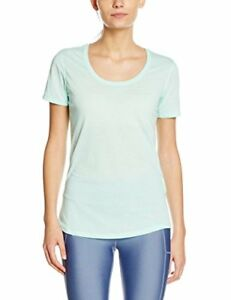 Under Armour Women's Threadborne Run Short-Sleeve Shirt - Crystal Medium