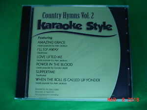 Country Hymns  Volume #2  Christian  Daywind  Karaoke Style  CD+G  Karaoke  NEW