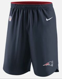 Limited Edition Nike Dri-FIT NFL New England Patriots Dry Vapor Shorts 836539 L
