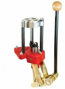 Lee Precision Classic Turret Press Features Solid Steel Linkage (Red) - ORIGINAL