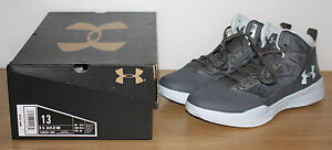Under Armour Jet Mid Size 13 UA Women Basketball Shoes Graphite