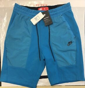 Nike TECH KNIT FLEECE SHORTS GYM EXERCISING RUNNING MENS SUMMER SIZE MEDIUM