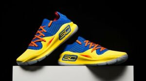Under Armour Curry 4 Low NBA Jam blue yellow dub nation mvp home away UA 1 2 3 5