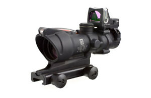 Brand NEW Trijicon ACOG Rifle Scope 4x32mm Red Crosshair RMR Reticle TA31RM04