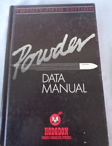Hodgdon Powder 29th edition Powder Data Manual