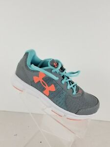 Under Armour athletic shoes for kids size 13K