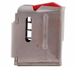 Savage Model 93 Series .22 WMR .17 HMR 5 Rounds Stainless Steel Magazine #90009