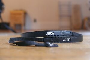Leica  OEM Black Camera Strap for Leica D-LUX (Typ 109) – NEW