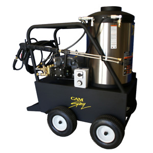 Cam Spray Professional 2000 PSI (Electric - Hot Water) Pressure Washer (230V ...