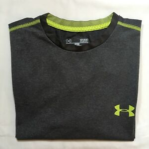 Pre Owned Under Armour Gray Shirts Dry Fit Shirts Gym Sports Small S