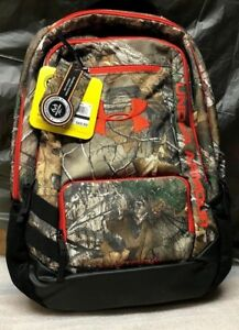 Under Armour Camo Hustle 30.7L Backpacks - Realtree Camo Backpack