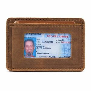 Saddleback Leather Front Pocket ID Wallet - Best Selling 100% Full Grain Small L