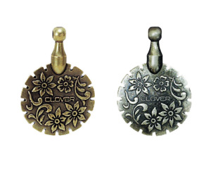 Clover Antique Thread Cutter Pendant Both Colors Available $9.48