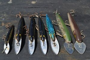7 Vintage Rapala Sinking 4 CD 18 -Finland 1- CD 13  2 CISCO KID FISHING LURE