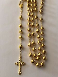 Men Large Rosary Beads Necklace 30