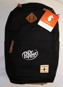 NWT! Cotopaxi Kilimanjaro 20L Backpack Canvas Leather DR. PEPPER Laptop Sleeve