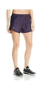 Under Armour Fly By Women's Printed Short. SIZE LARGE. RRP 27.99. BARGAIN.