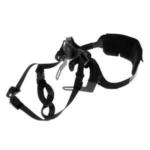 MagiDeal Tactical MICH Helmet Retention System H-Nape Chin Strap For Hunting