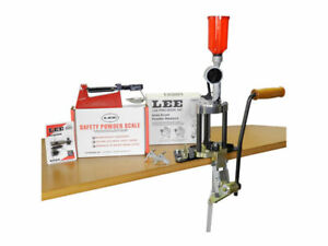 NEW LEE Value 4 Hole Turret Press Pistol and Rifle Reloading Kit LEE 90928