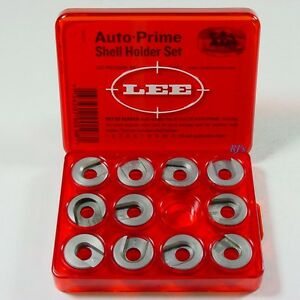 Lee Auto Prime Hand Priming Tool Shell Holder Set 11 Shell Holders  Lee 90198