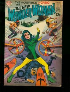 WONDER WOMAN #181 DC COMICS 1969 SKI COVER  I-CHING FN-