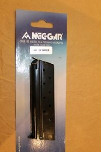 Lot of 4 Mec-Gar 1911 Magazines  For 38 Super  MGCGOV38B New in Package