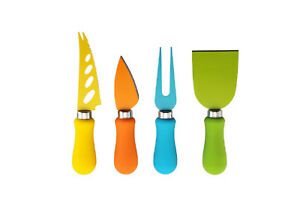 4 Piece Cheese Knife Set Great For All Types of Cheese