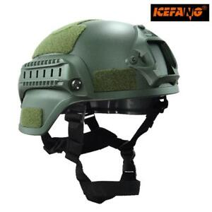 Military Mich 2000 Tactical Helmet Airsoft Gear Paintball Head Protector with N